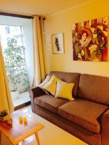 Apartamento Parque Bustamante, Appartamenti  Santiago - big - 5
