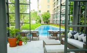 Raincondo Pool Access, Appartamenti  Petchaburi - big - 53