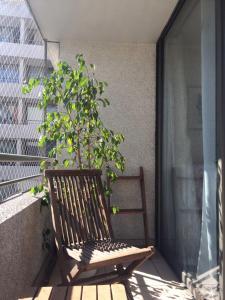 Apartamento Parque Bustamante, Appartamenti  Santiago - big - 10