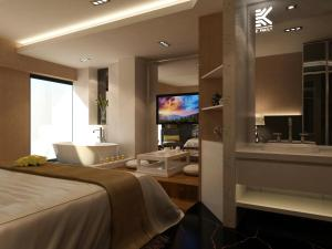 K Family Boutique Short-Term Hotel(Dali Gold K Sea View Branch), Hotels  Dali - big - 6