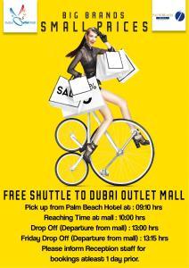 Palm Beach Hotel, Отели  Дубай - big - 13