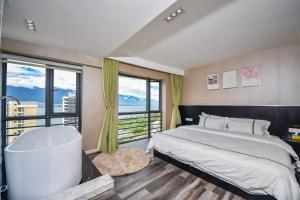K Family Boutique Short-Term Hotel(Dali Gold K Sea View Branch), Hotels  Dali - big - 34