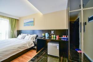 K Family Boutique Short-Term Hotel(Dali Gold K Sea View Branch), Hotels  Dali - big - 32