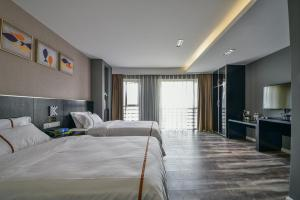 K Family Boutique Short-Term Hotel(Dali Gold K Sea View Branch), Hotels  Dali - big - 31
