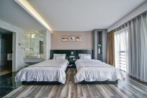 K Family Boutique Short-Term Hotel(Dali Gold K Sea View Branch), Hotels  Dali - big - 28