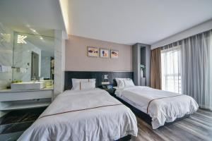 K Family Boutique Short-Term Hotel(Dali Gold K Sea View Branch), Hotels  Dali - big - 15