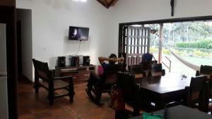 Parcela la Fortuna Mesa de los santos, Загородные дома  Букараманга - big - 13