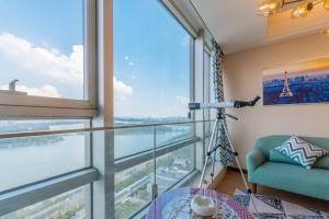 Xuanwu Lake View Apartement, Appartamenti  Nanjing - big - 3