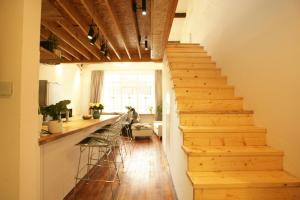 FX78 French Concession Loft & Terrace, Apartmány  Šanghaj - big - 29