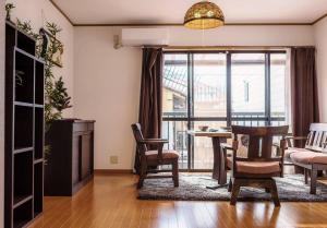 Apartment in Minamikyogokucho 093, Апартаменты  Киото - big - 2