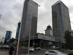 Сердце Астаны - Байтерек 2. Нурсая, Апартаменты  Астана - big - 11