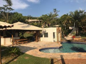 Rancho Santa Felicidade, Holiday homes  Delfinópolis - big - 12