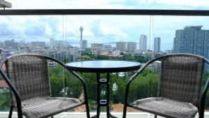 Peak Tower in Phatumnak (Seaview), Apartments  Pattaya South - big - 42