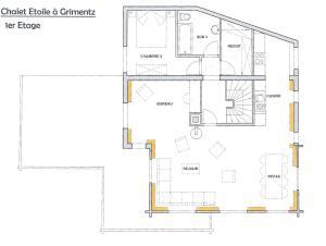 Chalet Etoile, Alpesi faházak  Grimentz - big - 2