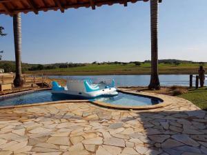 Rancho Santa Felicidade, Holiday homes  Delfinópolis - big - 15