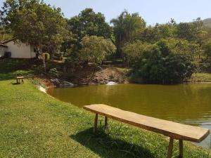 Rancho Santa Felicidade, Holiday homes  Delfinópolis - big - 16