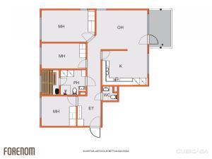 4 room apartment in Espoo - Mielikinviita 8, Apartmány  Espoo - big - 12