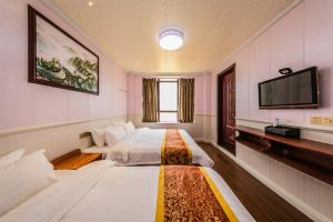 Fuzhou Ocean Love Holiday Apartment, Hotel  Fuzhou - big - 32