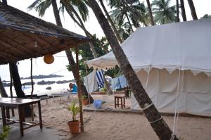 Cola Beach Sunset Bay, Luxury tents  Cola - big - 17