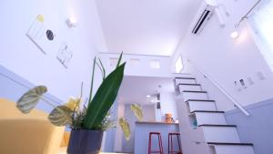 Located Centre of Naha, La Clairchance Kume 201, Apartmanok  Kume - big - 16