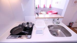Located Centre of Naha, La Clairchance Kume 203, Apartments  Kume - big - 20