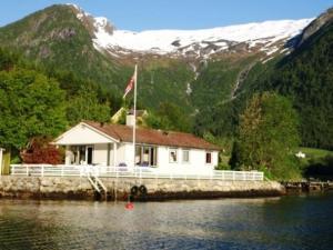 Norwegen Traumhaus direkt am Fjord