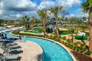 Five Bedrooms TownHome with Pool 4849, Nyaralók  Kissimmee - big - 8