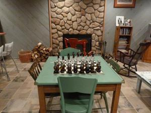 Luxury Log Cabin, Kúriák  Damascus - big - 24