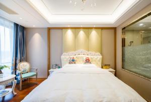 Suzhou Center Apartment, Apartmány  Suzhou - big - 5