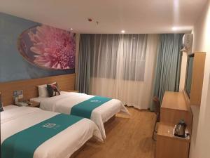 Pai Hotel Chengdu Cu Bridge Oushang City of Female Shoes, Hotel  Chengdu - big - 24