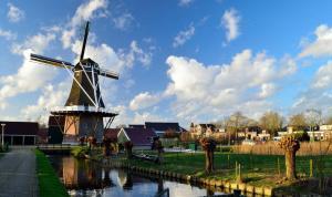 Стинс - Mill view bij Leeuwarden