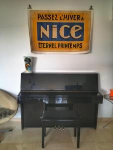 Superbe appartement villa Nice / Villefranche, Апартаменты  Ницца - big - 5