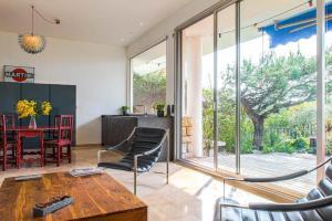 Superbe appartement villa Nice / Villefranche, Апартаменты  Ницца - big - 4