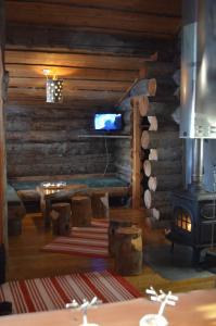 obrázek - Arctic Log cabin