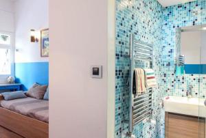 Superbe appartement villa Nice / Villefranche, Апартаменты  Ницца - big - 16