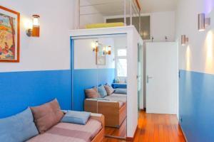 Superbe appartement villa Nice / Villefranche, Апартаменты  Ницца - big - 15
