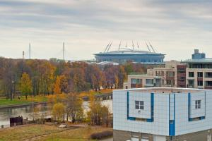 NewPiter, Apartmanhotelek  Szentpétervár - big - 6
