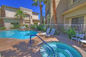 1 Bedroom Condominium in La Quinta, CA (#CLR101), Дома для отпуска  Ла-Кинта - big - 6