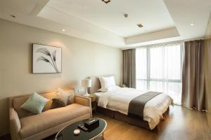 Mengwan Harbor Apartment, Apartmanok  Csingtao - big - 32