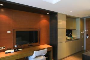Mengwan Harbor Apartment, Apartmanok  Csingtao - big - 8
