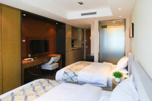 Mengwan Harbor Apartment, Apartmanok  Csingtao - big - 22