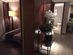 Mengwan Harbor Apartment, Apartmanok  Csingtao - big - 33