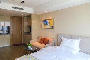 Mengwan Harbor Apartment, Apartmanok  Csingtao - big - 16