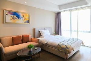 Mengwan Harbor Apartment, Apartmanok  Csingtao - big - 13