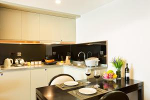 Mengwan Harbor Apartment, Apartmanok  Csingtao - big - 11