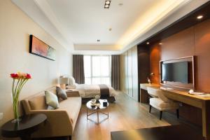 Mengwan Harbor Apartment, Apartmanok  Csingtao - big - 10