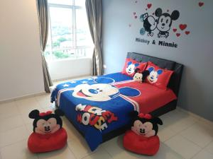 Cartoon Wonderland Family Suite, Ferienwohnungen  Bayan Lepas - big - 1