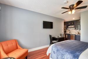 Yamhill Flats: Suite #2, Holiday homes  Newberg - big - 11