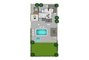 Villa Xenios Dias, Виллы  Argaka - big - 28