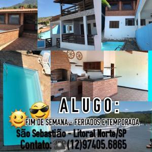 Lugar de Gente Feliz, Prázdninové domy  São Sebastião - big - 1